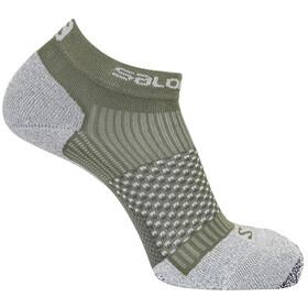Salomon Cross Pro Socks, deep lichen green/lunar rock
